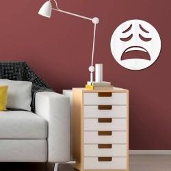 Espelho Decorativo Emoji Buá