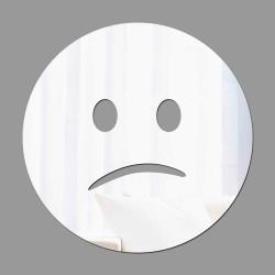 Espelho Decorativo Emoji Chateado