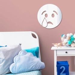 Espelho Decorativo Emoji Decepcionado