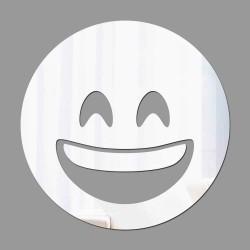 Espelho Decorativo Emoji Feliz