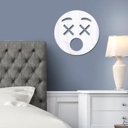 Espelho Decorativo Emoji Morri