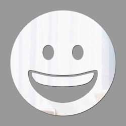 Espelho Decorativo Emoji Sorriso