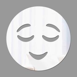 Espelho Decorativo Emoji Tranquilo