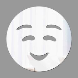 Espelho Decorativo Emoji Vergonha
