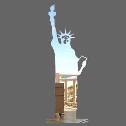 Espelho Decorativo Estátua da Liberdade