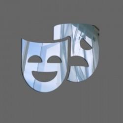 Espelho Decorativo Face Teatro