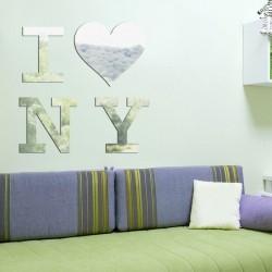 Espelho Decorativo I Love NY