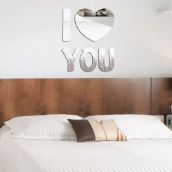 Espelho Decorativo I love you