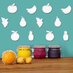Espelho Decorativo Kit Frutas