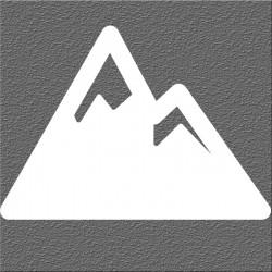 Espelho Decorativo Montanha