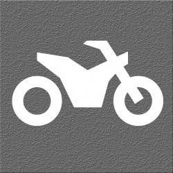 Espelho Decorativo Motocross