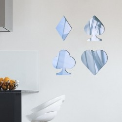 Espelho Decorativo Naipes