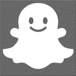 Espelho Decorativo Snapchat