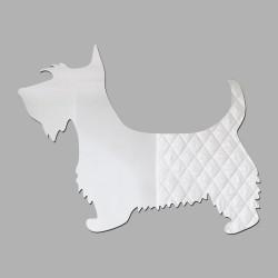 Espelho Decorativo Terrier Escocês
