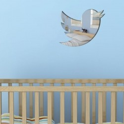 Espelho Decorativo Twitter