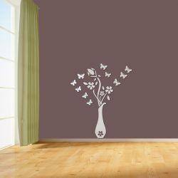 Espelho Decorativo Vaso de Flores