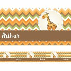 Faixa de Parede Girafa Chevron