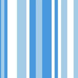 OUTLET - 1 Rolo de Papel de Parede Listras Azuis 0,60 x 2,50 metros