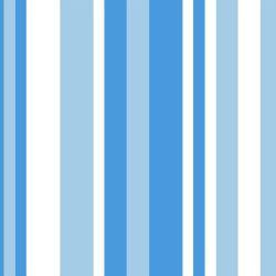OUTLET - 1 Rolo de Papel de Parede Listras Azuis 0,60 x 3,00 metros