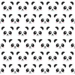OUTLET - 1 Rolo de Papel de Parede Panda 0,60 x 2,50 metros