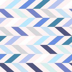 OUTLET - 1 Rolo de Papel de Parede Traços Coloridos 0,60 x 1,50 metros