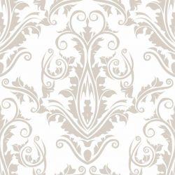 OUTLET - 2 Rolos de Papel de Parede Floral Tips Clean 0,60 x 3,00 metros