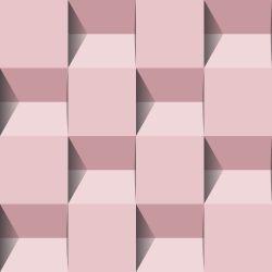 OUTLET - 2 Rolos de Papel de Parede Fuadi Rose 0,60 x 2,50 metros