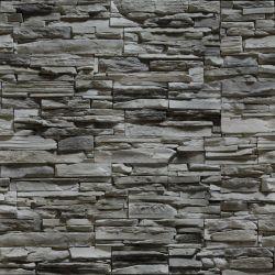 OUTLET - 2 Rolos de Papel de Parede Pedras Conjiquinha 07 0,60 x 2,50 metros