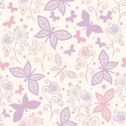 OUTLET - 3 Rolos de Papel de Parede Fantastic Butterflies 0,60 x 2,50 metros