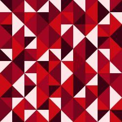 OUTLET - 3 Rolos de Papel de Parede Rosemund Red 0,60 x 2,50 metros