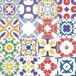 OUTLET - 4 Kits Adesivo para Azulejo Porto 20x20 cm