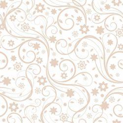 OUTLET - 5 Rolos de Papel de Parede Flora Clean 0,60 X 3,00 METROS