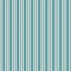 OUTLET - 6 Rolos de Papel de Parede Listras Baby Blu 0,58 x 2,50 metros
