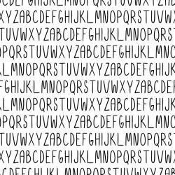 Papel de Parede Alfabeto