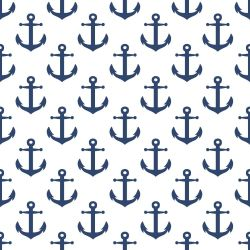 Papel de Parede Âncora Navy