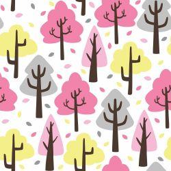 Papel de Parede Árvores Fofas Girl