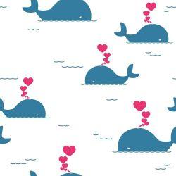 Papel de Parede Baby baleia