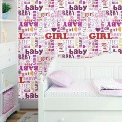 Papel de Parede Baby Girl