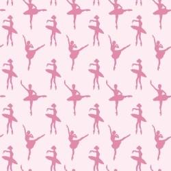Papel de Parede Ballet Pink