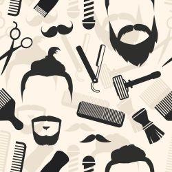 Papel de Parede Barbearia