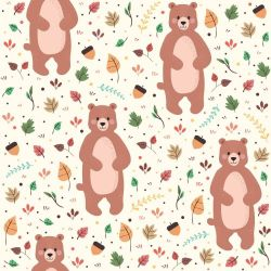 Papel de Parede Bear Cute