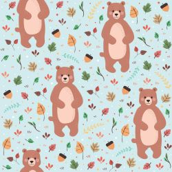 Papel de Parede Bear Cute Boy