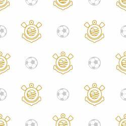 Corinthians - Papel de Parede Bolas Clean