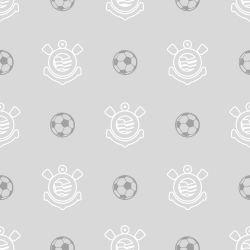 Corinthians - Papel de Parede Bolas Gray