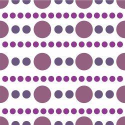 Papel de Parede Bolinhas Purple