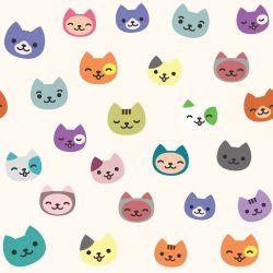 Papel de Parede Cartoon Cats