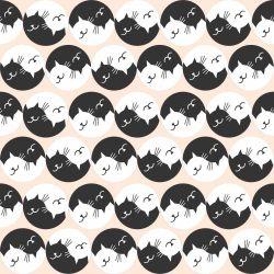 Papel de Parede Cats Oriental