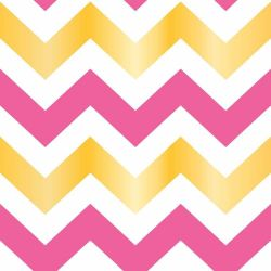 Papel de Parede Chevron Virginia Girl