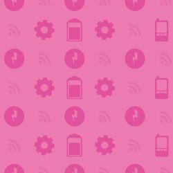 Papel de Parede Configurações Rosa