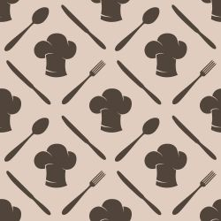 Papel de Parede Cooking Brown